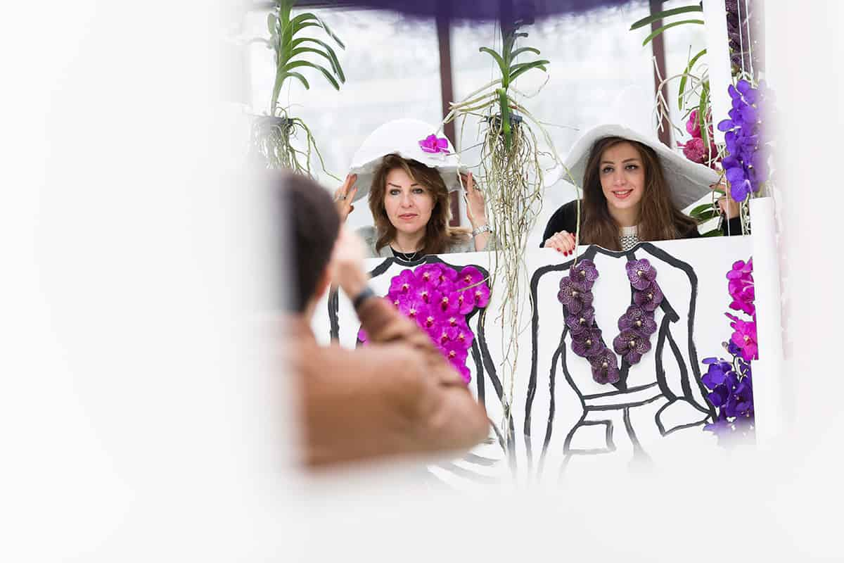 Orchidee hoed philip treacy orchid hat - Professionele keukenhoed ...