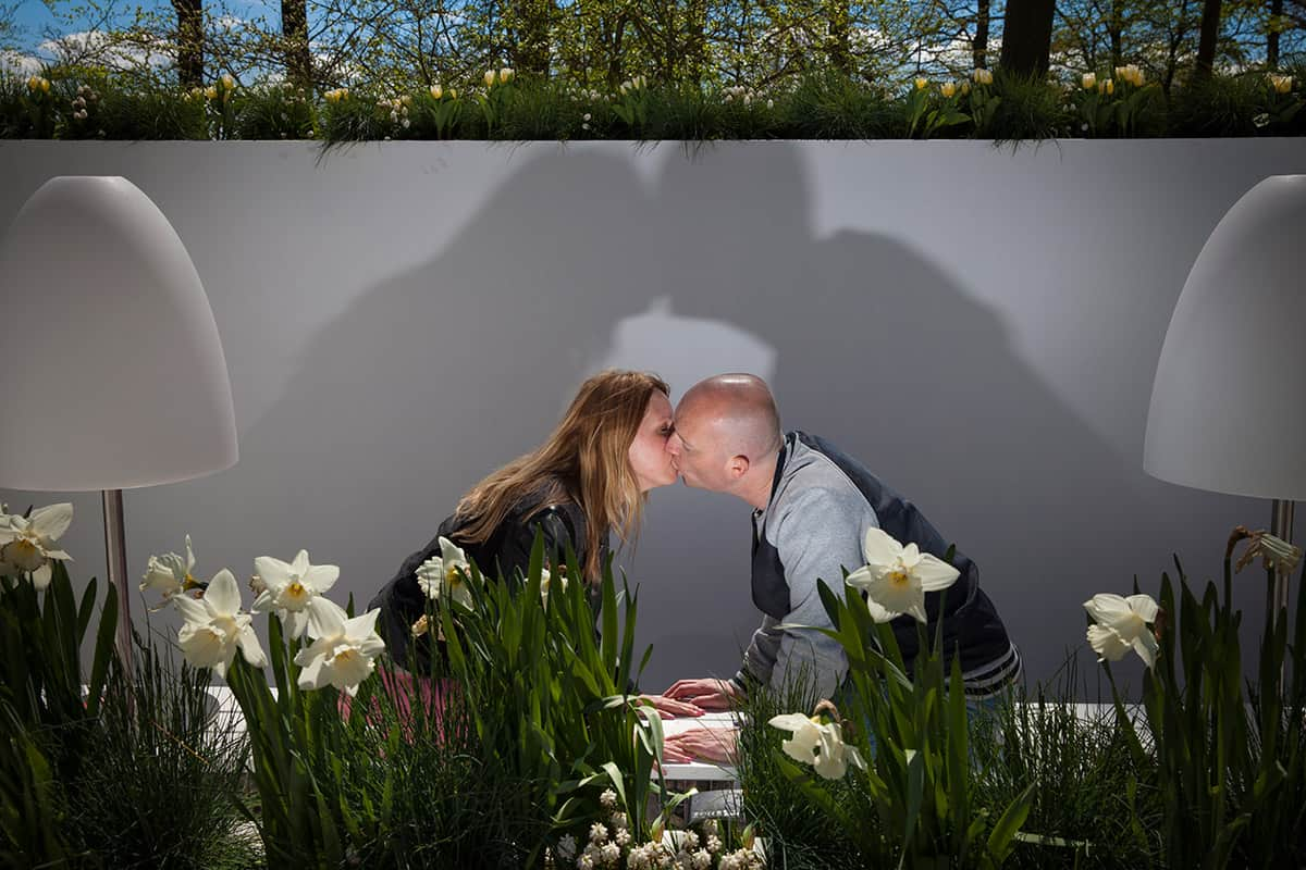 loveshoot fotoshoot pre-wedding fotosessie Keukenhof