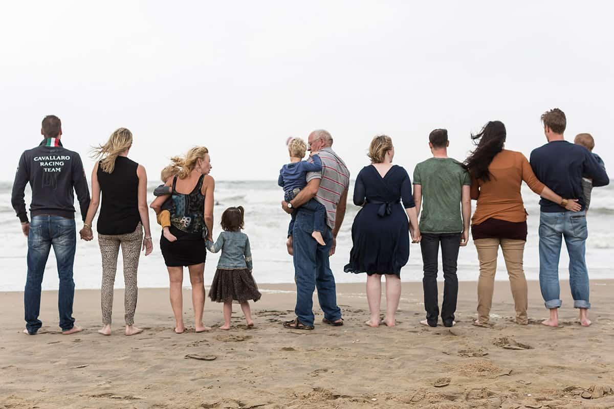 Fotoshoot strand Zandvoort - familie & gezinsportret