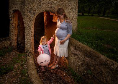 zwangerschapsfoto's buiten Hoofddorp