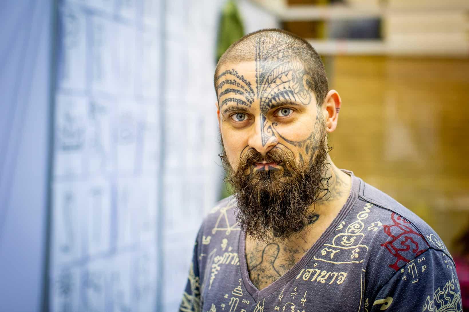 tattoo portret fotograaf