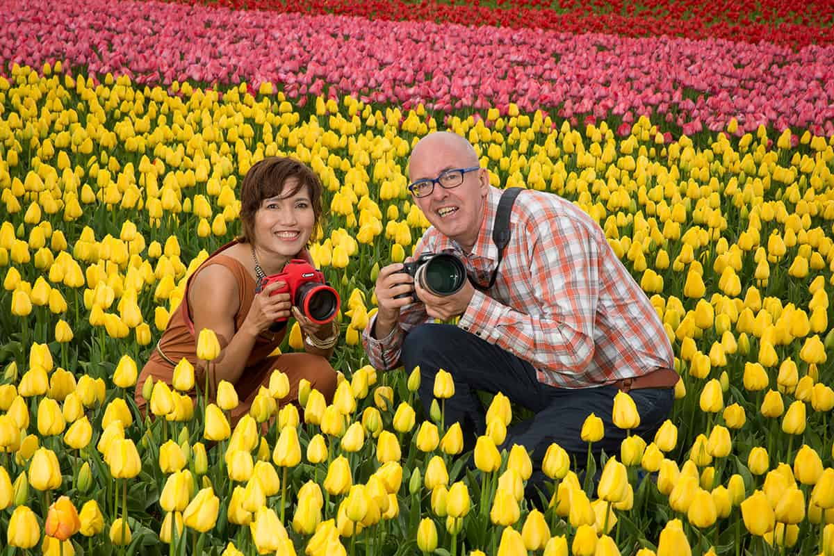 professional photographer Keukenhof