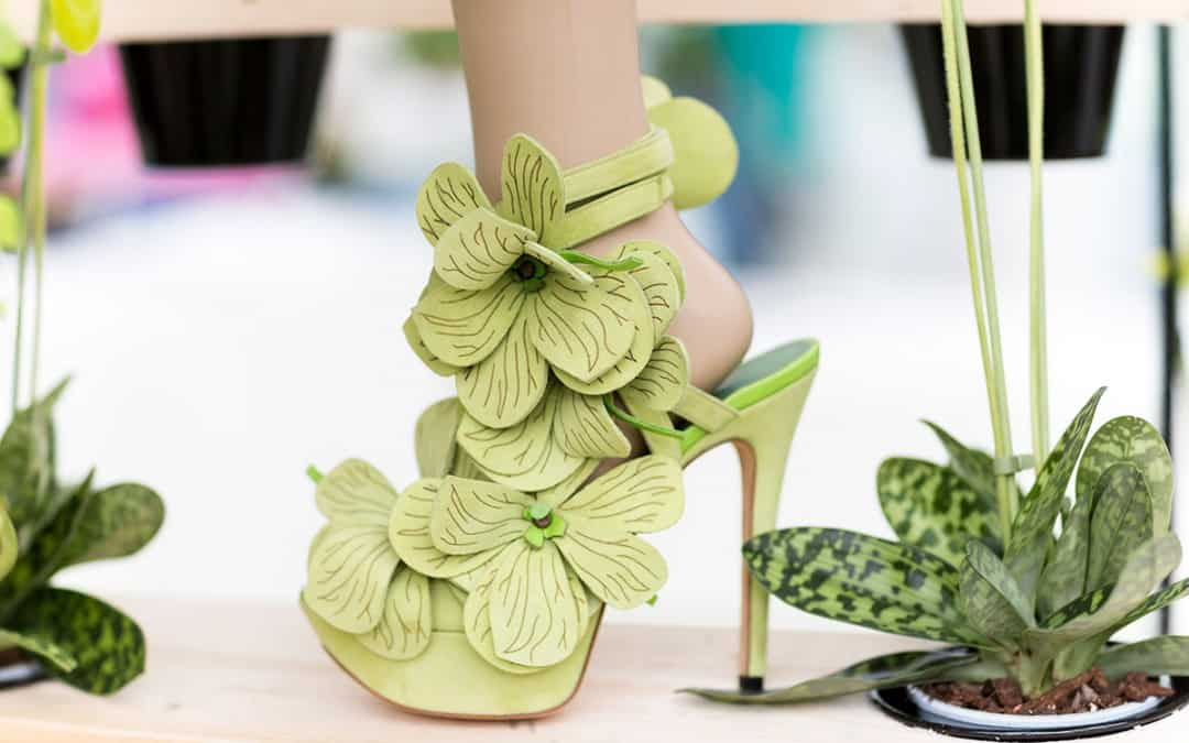 Orchid Shoe Jan Jansen