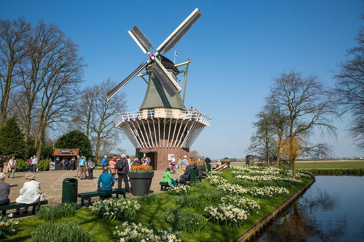 photography Keukenhof 2017 windmill Holland