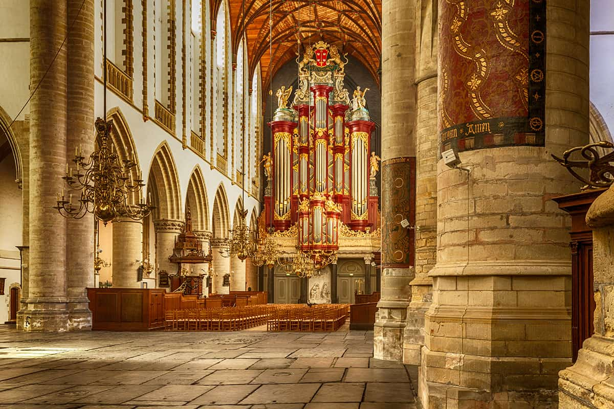 photo church Haarlem St. Bavo