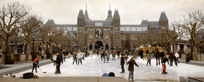 photoshoot Museumplein Amsterdam