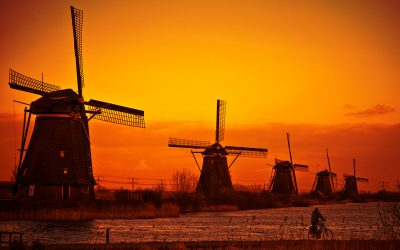 Dutch windmills photos