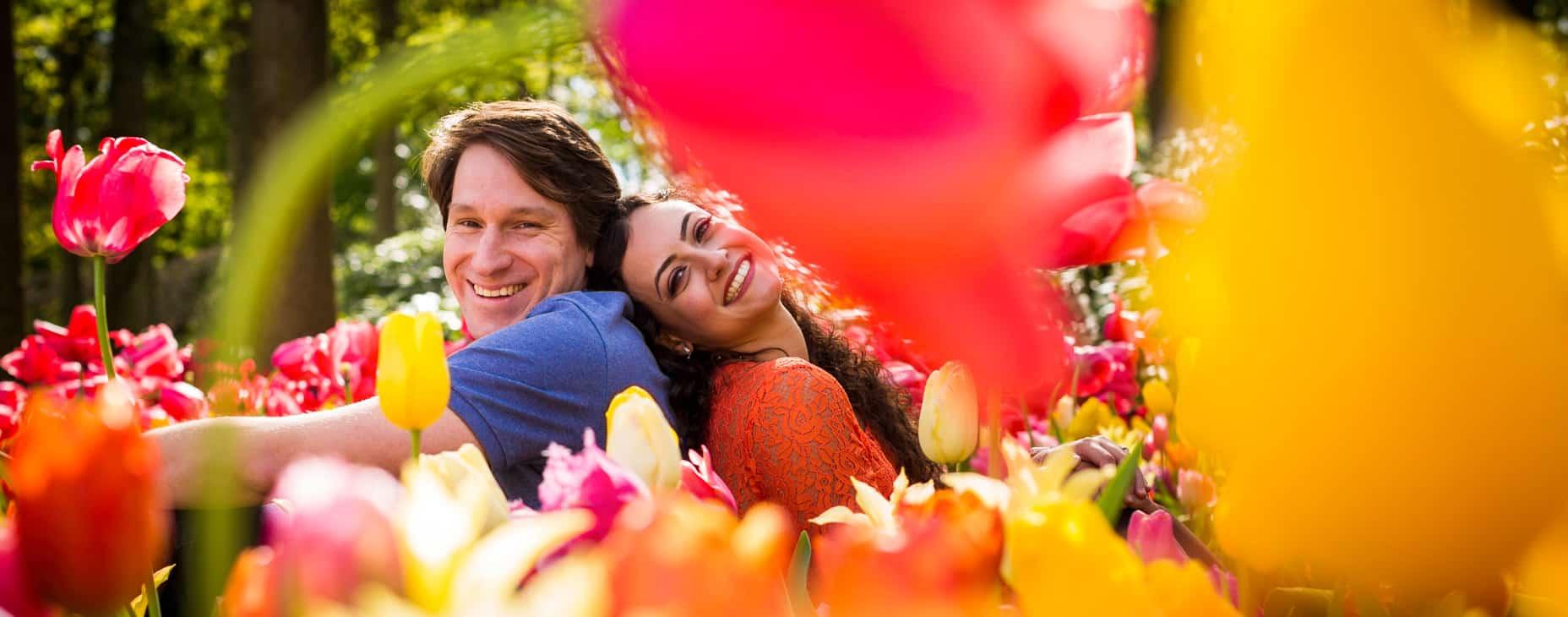 fotosessie tulpen bloemen fotograaf