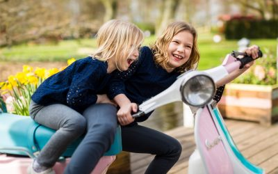 Keukenhof with kids