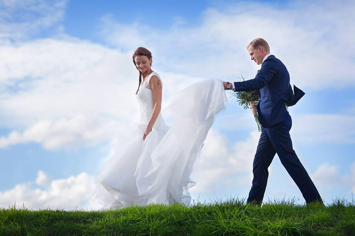 fotograaf Leiden bruidsfotografie trouwreportage bruiloft