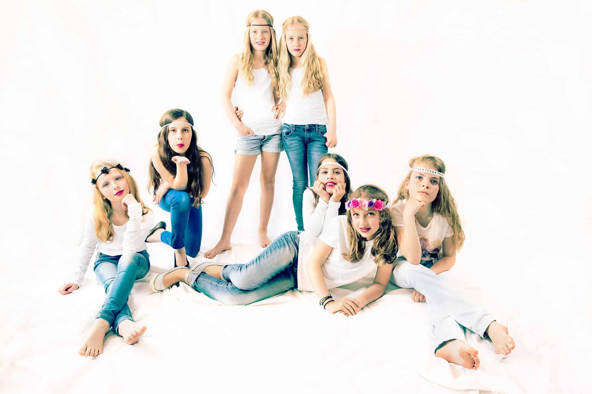 fotostudio Hoofddorp modellenparty kinderfeestje