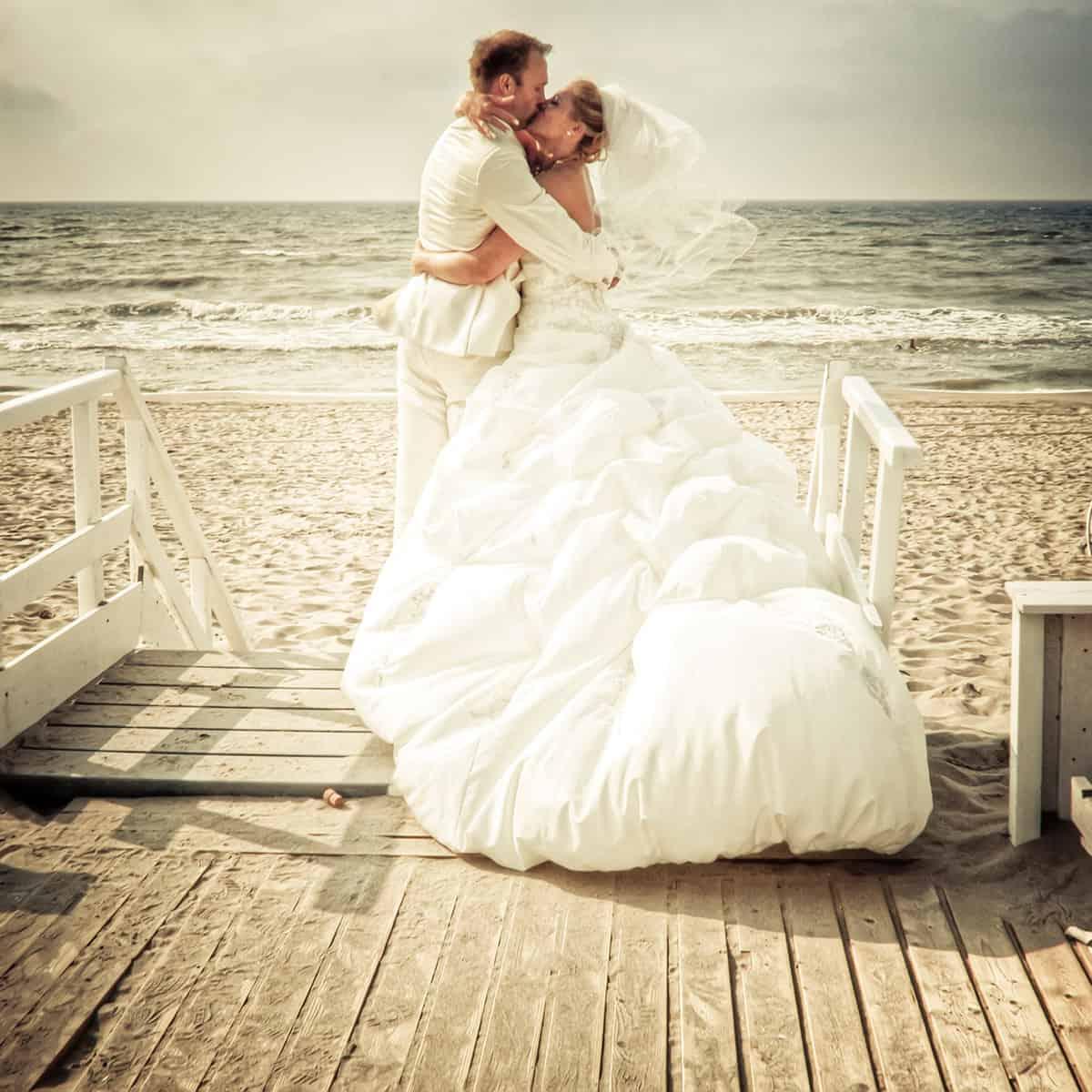 fotograaf Noordwijk bruiloft trouwen strand