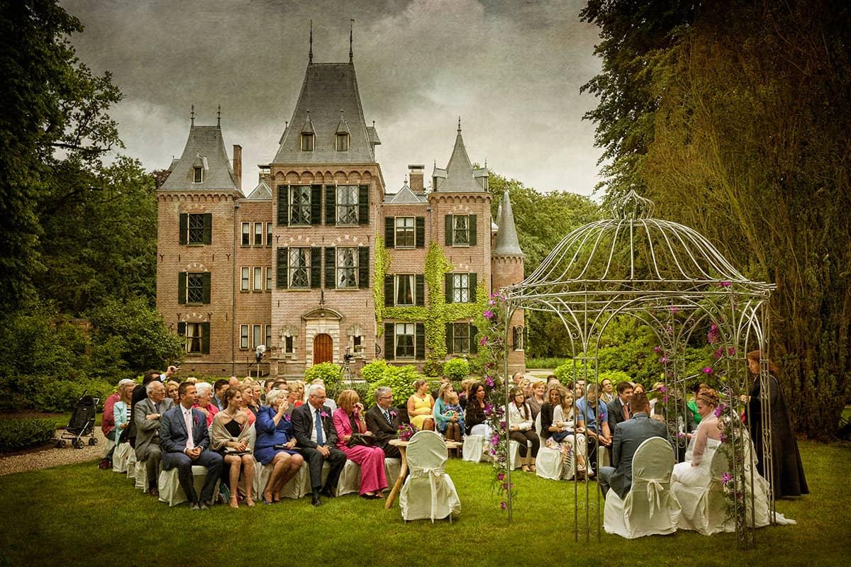 fotograaf Lisse trouwen kasteel Keukenhof trouwreportage
