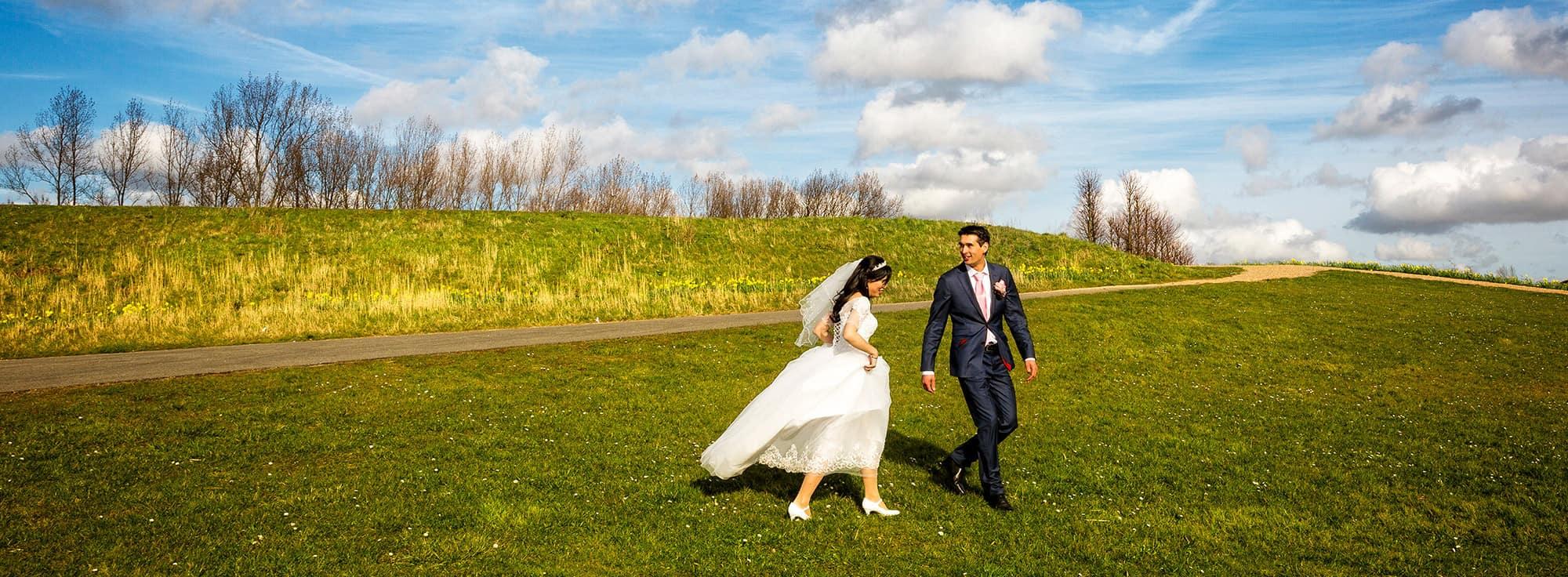 Huwelijksfotograaf Nieuw-Vennep bruiloft trouwen
