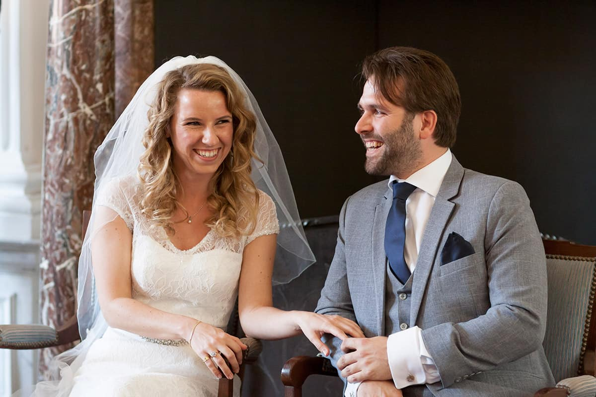 fotograaf Weesp stadhuis bruidsfotografie