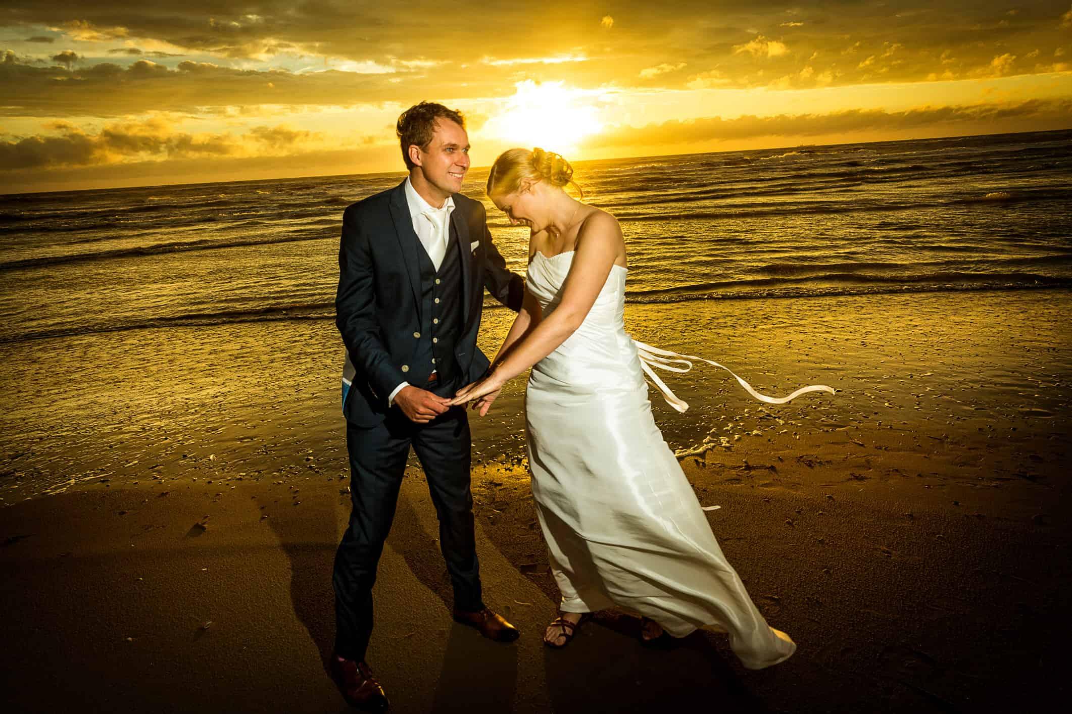 fotograaf huwelijk Texel trouwen