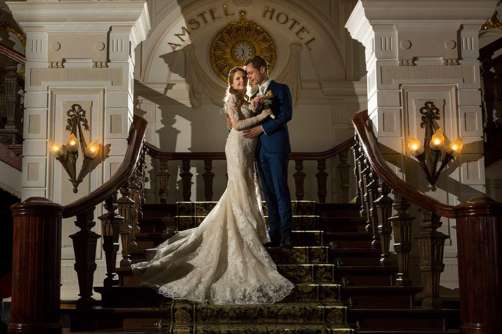 huwelijk trouwen Amstel Hotel fotograaf