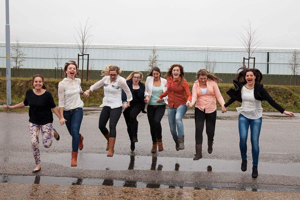 fotograaf Weesp vriendinnen fotoshoot vrijgezellenfeest