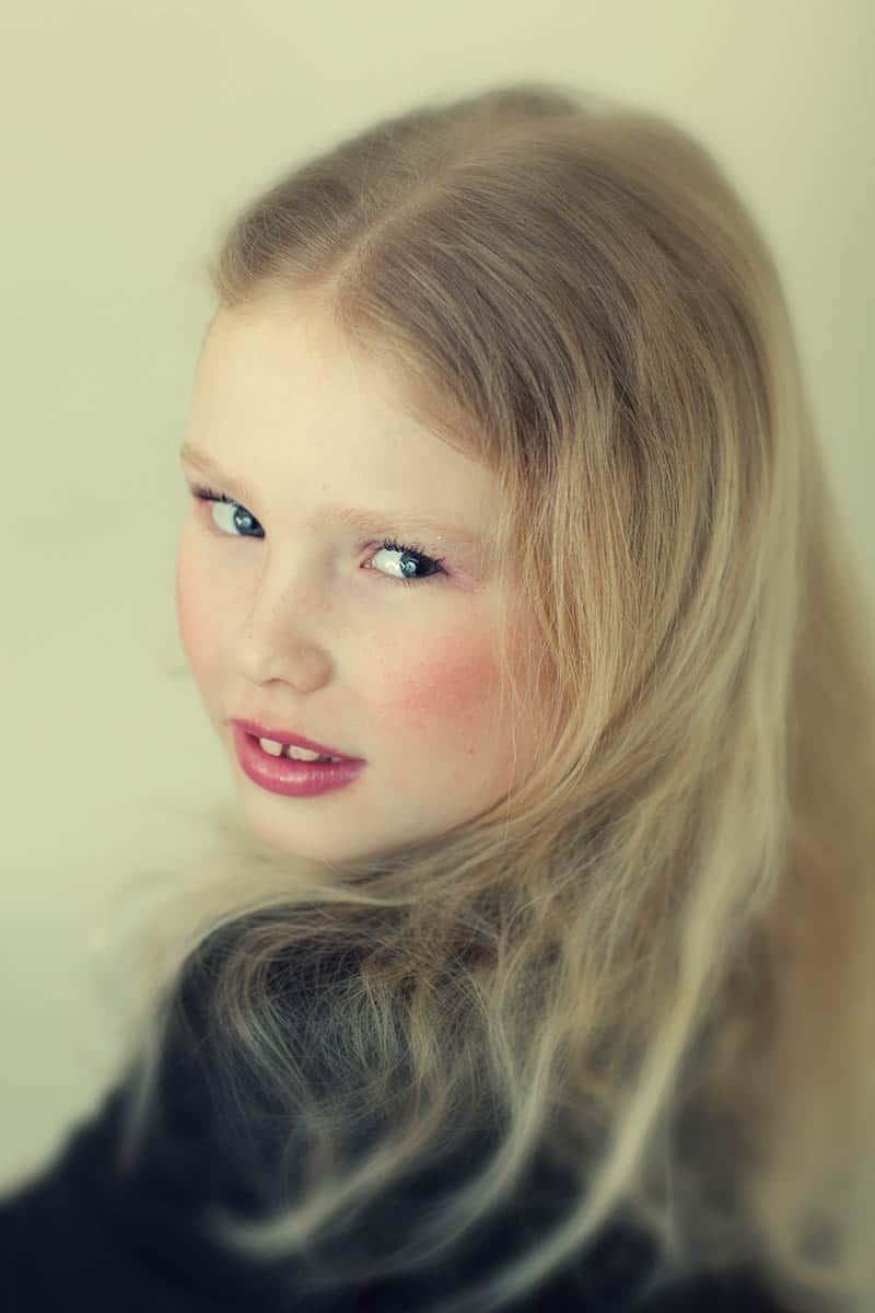 portret meisje kinderfotografie hip modern Hoofddorp