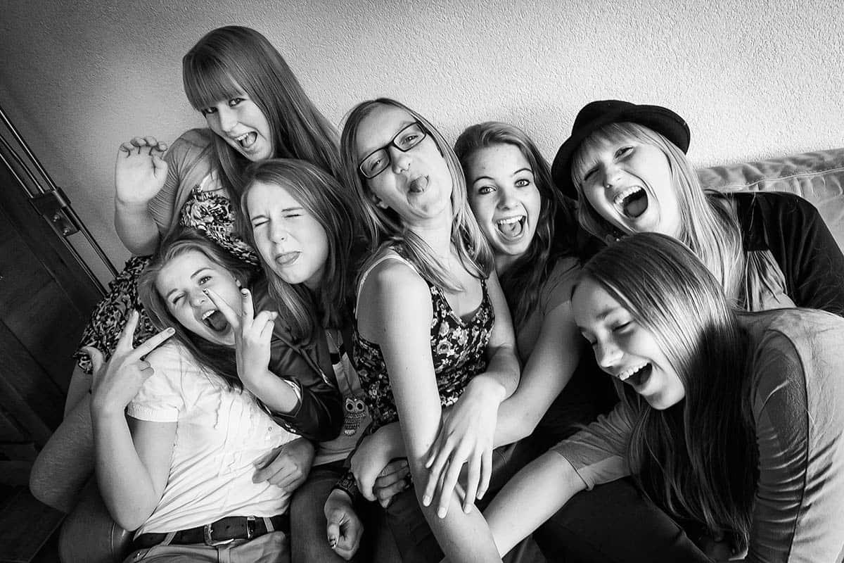 fotoshoot meisjes tienershoot tienerfeestje fotoparty fotograaf modellenparty Nieuw-Vennep