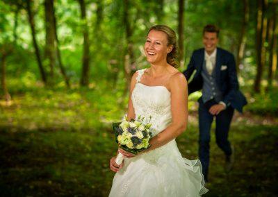 spontane trouwfoto Velsen