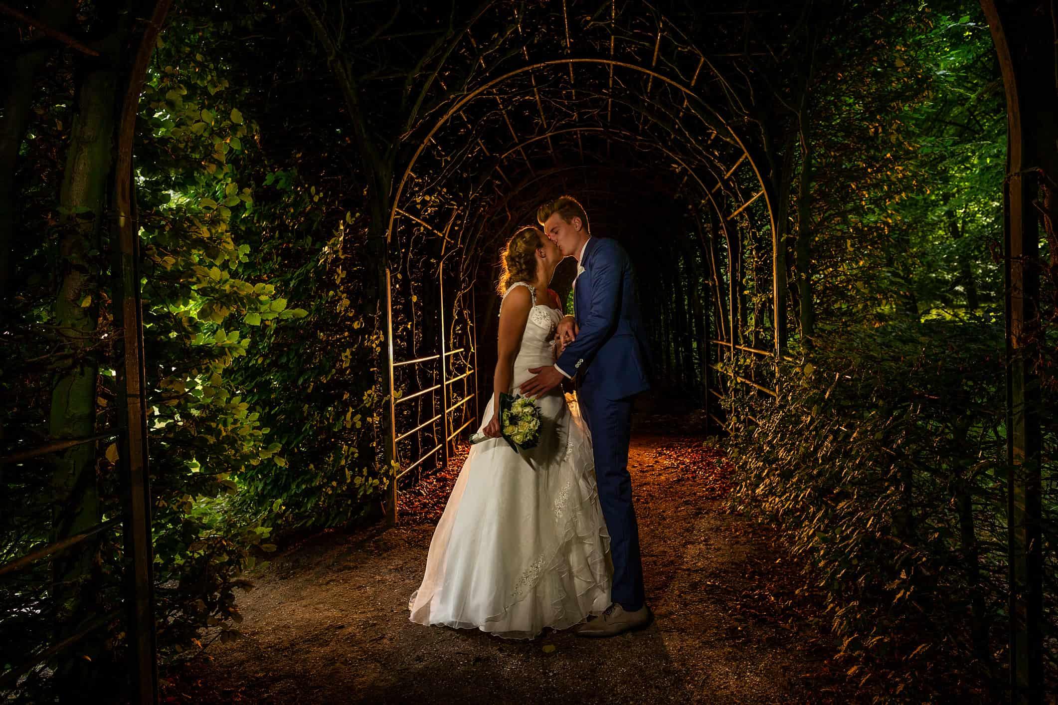 fotograaf fotosessie bruidspaar Velsen