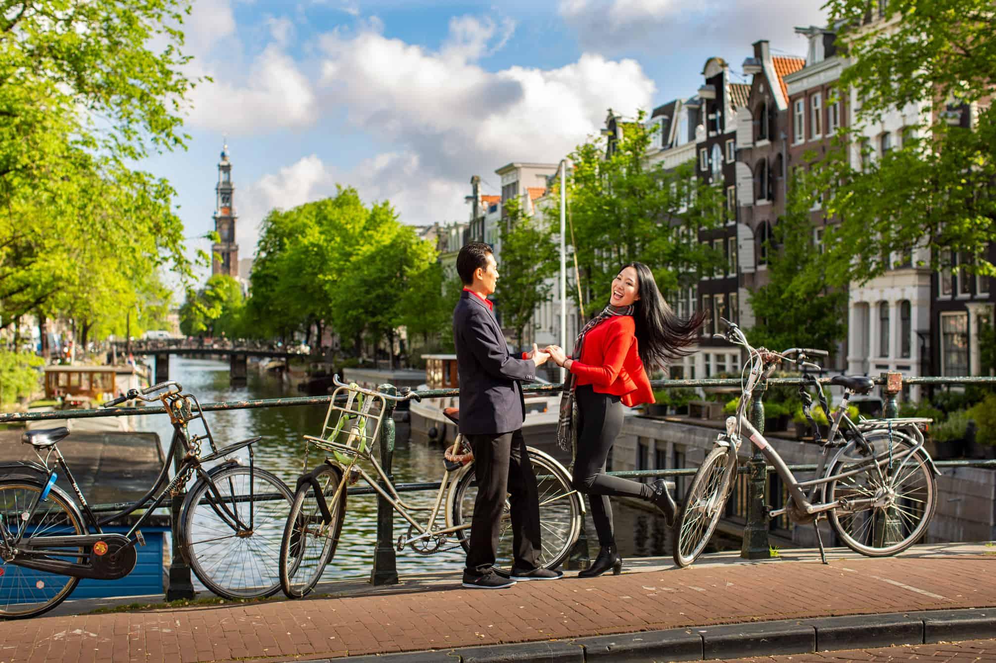 Loveshoot fotoshoot in Amsterdam.