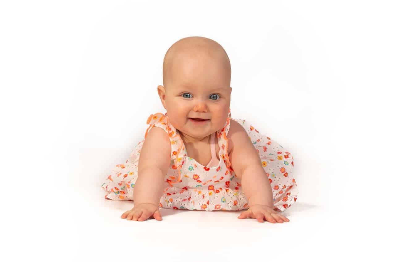 babyfoto fotostudio thuis Nieuw-Vennep
