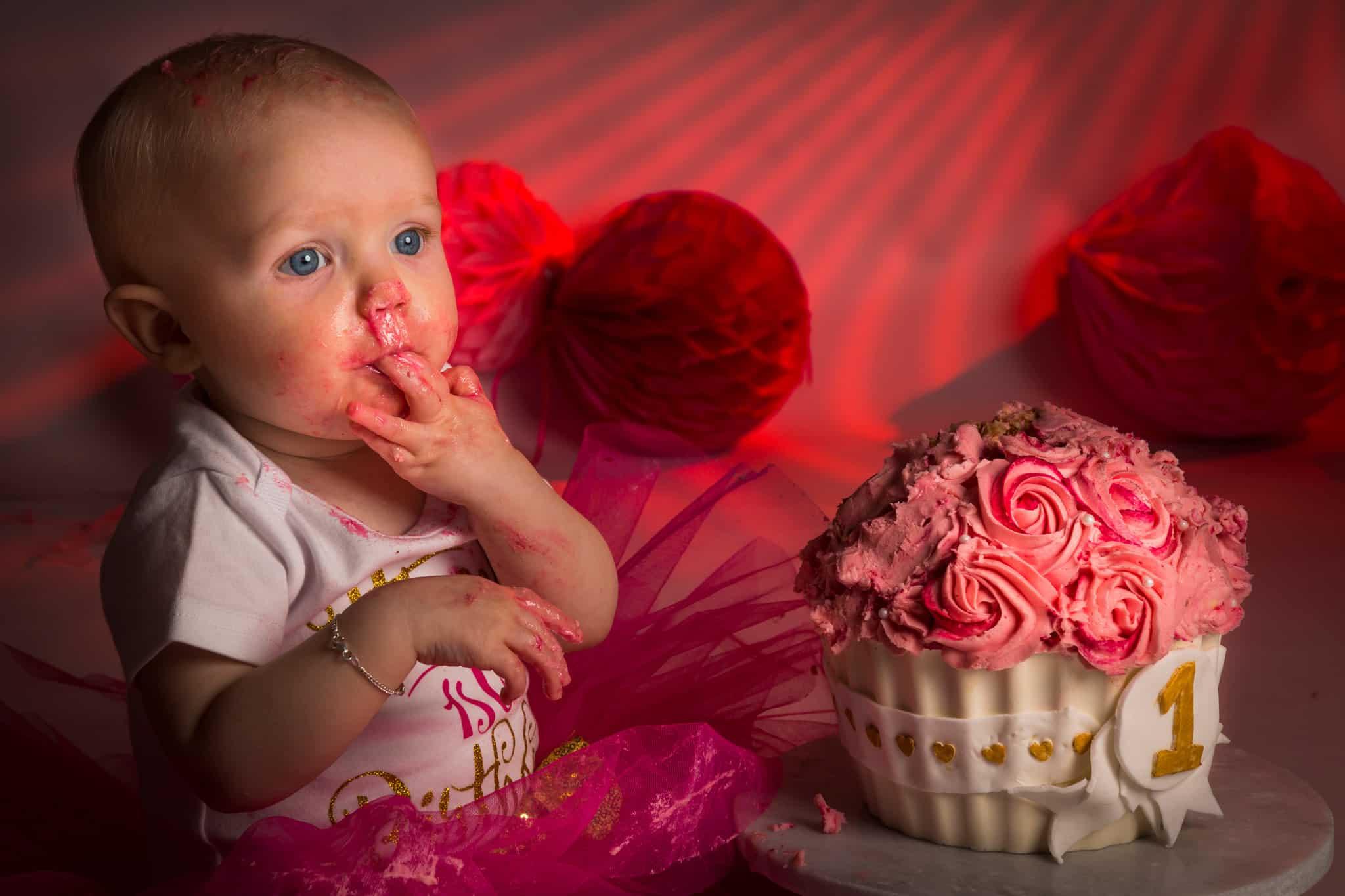 Cake Smash Fotoshoot baby Hoofddorp