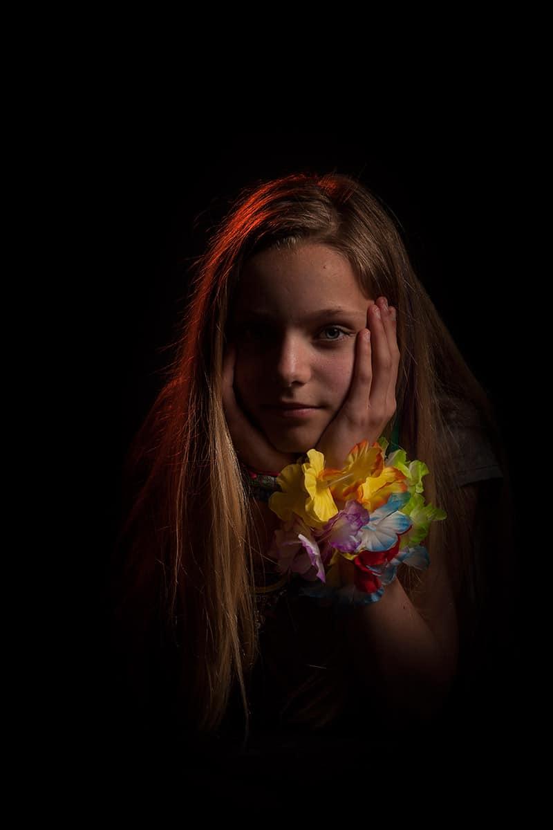 fotostudio Hoofddorp fotograaf portret meisje