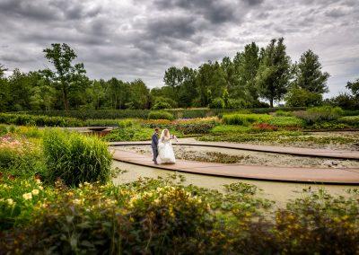 Haarlemmermeerse Bos bruidspaar