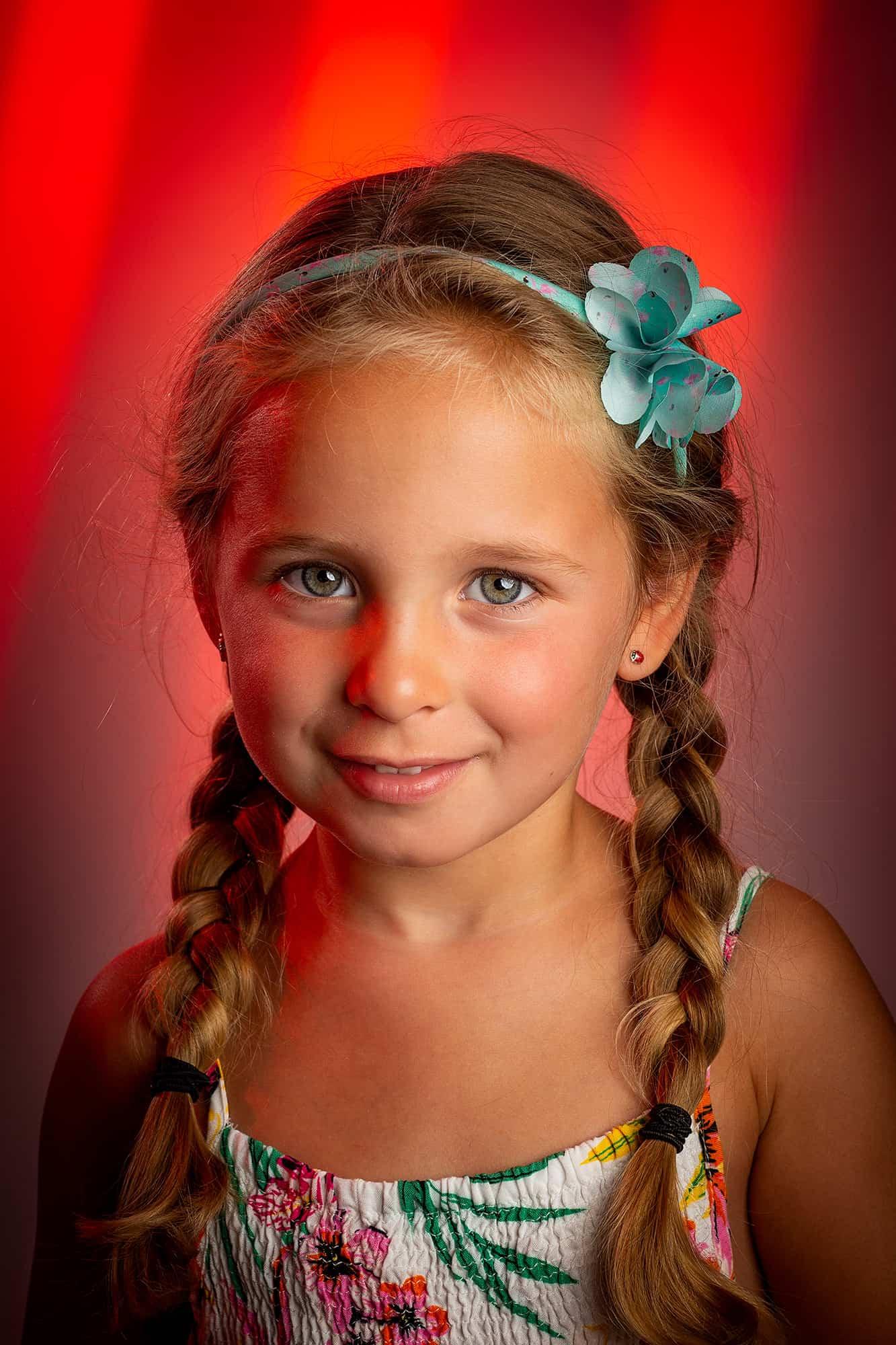 portret thuis fotostudio Nieuw-Vennep