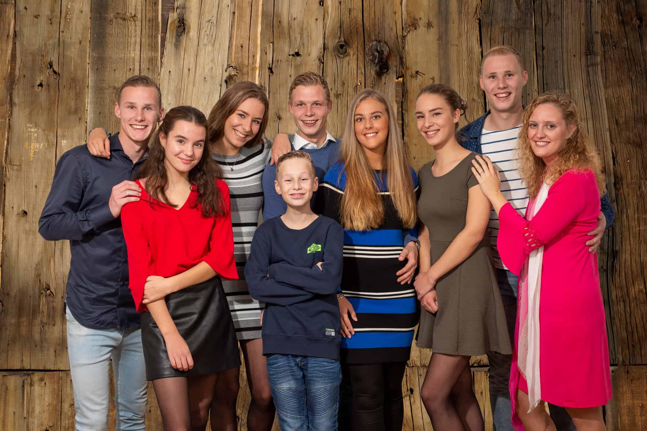 studio familieportret Nieuw-Vennep